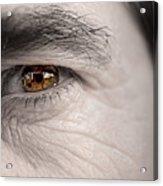 Left Eye Acrylic Print