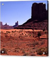 Left Mitten Monument Valley Navajo Tribal Park Acrylic Print