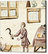 Leg Surgery, 1675 Acrylic Print