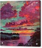 Legend Of A Sunset Acrylic Print