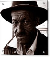 Legendary Bluesman And Folk Artist James Son Thomas Acrylic Print