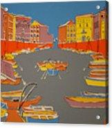 Leghorn Canal Acrylic Print