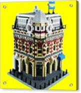 Lego Corner Shop And Apartments Acrylic Print