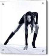 Legs Acrylic Print