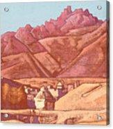 Leh, Ladakh Acrylic Print