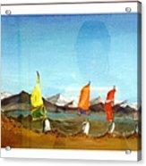 Leh Series 001 Acrylic Print