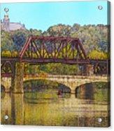Lehigh River - Easton Pa Acrylic Print