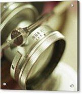 Leica 3c Macro Lens Aperture Ring Acrylic Print