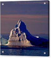 Lemaire Channel Antarctica 31 Acrylic Print