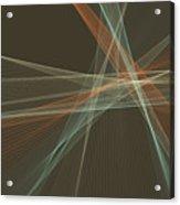 Lemans Computer Graphic Line Pattern Acrylic Print