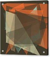 Lemans Polygon Pattern Acrylic Print