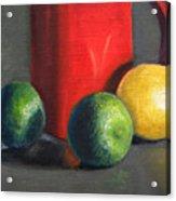 Lemon And Limes Acrylic Print