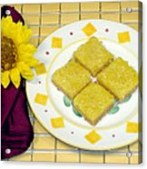 Lemon Candy Bars Acrylic Print