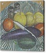 Lemon Cucumbers Acrylic Print