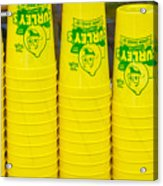 Lemon Cups Acrylic Print