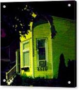 Lemon-drop House Acrylic Print by Guy Ricketts