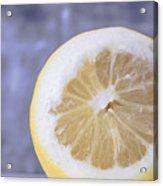Lemon Half Acrylic Print