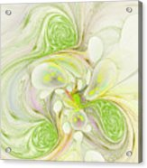 Lemon Lime Curly Acrylic Print