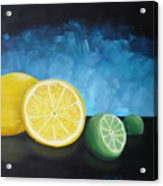 Lemon Lime Acrylic Print