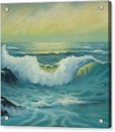 Lemon Seas Acrylic Print