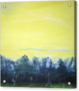 Lemon Sunset Acrylic Print