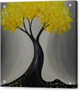 Lemon Twist Acrylic Print