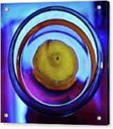 Lemonade In Blue Acrylic Print