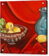 Lemons And Limes Acrylic Print