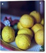 Lemons Acrylic Print