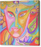 Lemurian Dreamer Acrylic Print