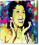 Lena Horne Acrylic Print by Lynda Payton