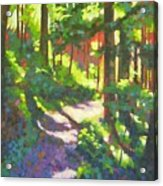 Lena Lake Trail II Acrylic Print