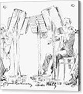 Lener String Quartet Acrylic Print by Granger