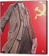 Lenin Gets Bolshi After A Bevi Acrylic Print