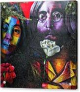Lennon And Ono Acrylic Print