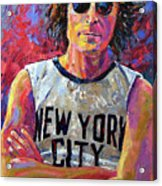 Lennon New York Acrylic Print
