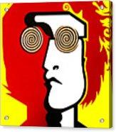 Lennon RYB Acrylic Print
