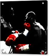 Lennox Lewis And Evander Holyfield  Acrylic Print