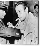 Lenny Bruce 1925-1966, Being Searched Acrylic Print by Everett