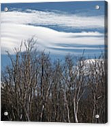 Lenticular Clouds - White Mountains New Hampshire  Acrylic Print