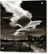 Lenticular Clouds Of Colorado Acrylic Print