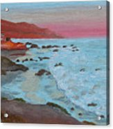 Leo Carillo Beach Afternoon II Acrylic Print
