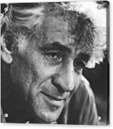 Leonard Bernstein 1970 Acrylic Print