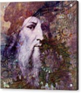 Leonardo Acrylic Print
