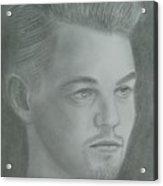 Leonardo Di Caprio Acrylic Print