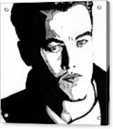 Leonardo Dicaprio Portrait Acrylic Print