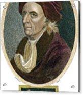 Leonhard Euler, 1707-1783 Acrylic Print