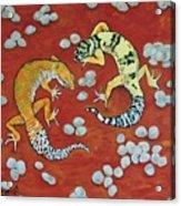 Leopard Geckos Acrylic Print
