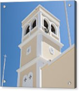 Lerapetra Church Steeple Acrylic Print