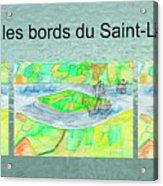 C'est Sur Les Bords Du Saint-laurent Mug Shot Acrylic Print